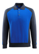 50610-962-11010 Sweatshirt polo - Bleu roi/Marine foncé