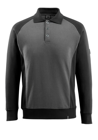 50610-962-1809 Sweatshirt polo - Anthracite foncé/Noir