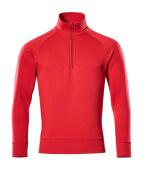 50611-971-02 Sweatshirt demi-zippé - Rouge