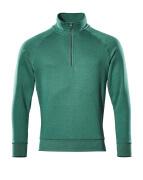 50611-971-03 Sweatshirt demi-zippé - Vert bouteille