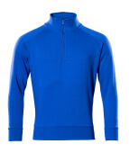 50611-971-11 Sweatshirt demi-zippé - Bleu roi