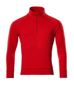 50611-971-202 Sweatshirt demi-zippé - Rouge trafic