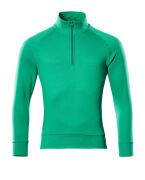 50611-971-333 Sweatshirt demi-zippé - Vert gazon