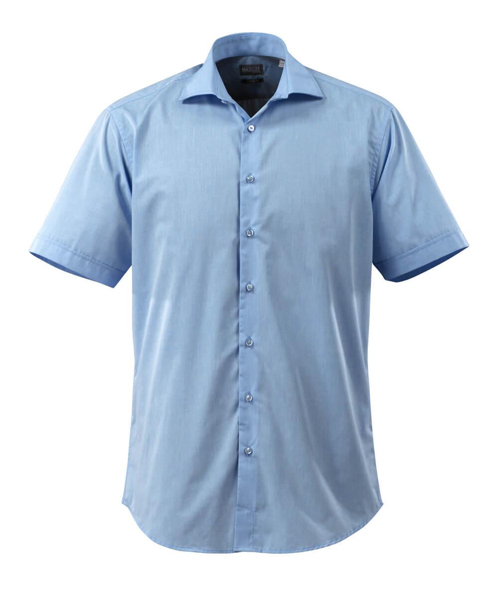 50632-984-71 Chemise, manches courtes - Bleu ciel