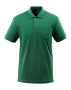51586-968-03 Polo avec poche poitrine - Vert bouteille