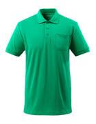51586-968-333 Polo avec poche poitrine - Vert gazon