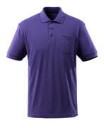 51586-968-95 Polo avec poche poitrine - Violet
