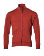 51591-970-02 Sweatshirt zippé - Rouge