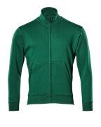 51591-970-03 Sweatshirt zippé - Vert bouteille