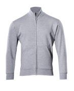 51591-970-08 Sweatshirt zippé - Gris chiné