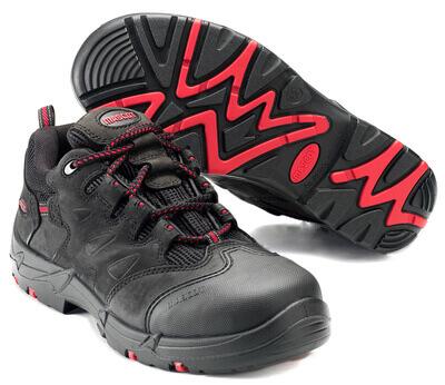 F0014-901-0902 Chaussures de sécurité - Noir/Rouge