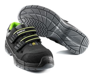 F0107-937-09 Sandales de sécurité - Noir