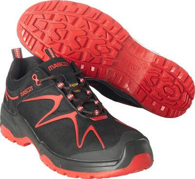 F0121-770-0902 Chaussures de sécurité - Noir/Rouge