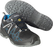 F0123-772-0911 Chaussures de sécurité - Noir/Bleu roi