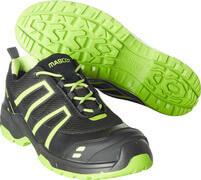 F0124-773-0917 Chaussures de sécurité - Noir/Vert lime