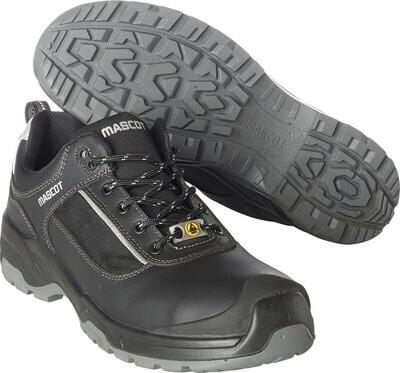F0126-774-09880 Chaussures de sécurité - Noir/Argent