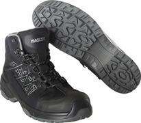 F0129-947-09 Chaussures de sécurité hautes - Noir
