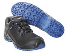 F0140-902-0901 Chaussures de sécurité - Noir/Bleu roi