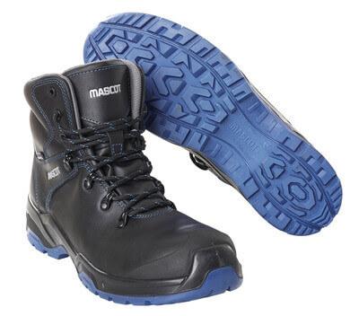 F0141-902-0901 Bottes de sécurité - Noir/Bleu roi