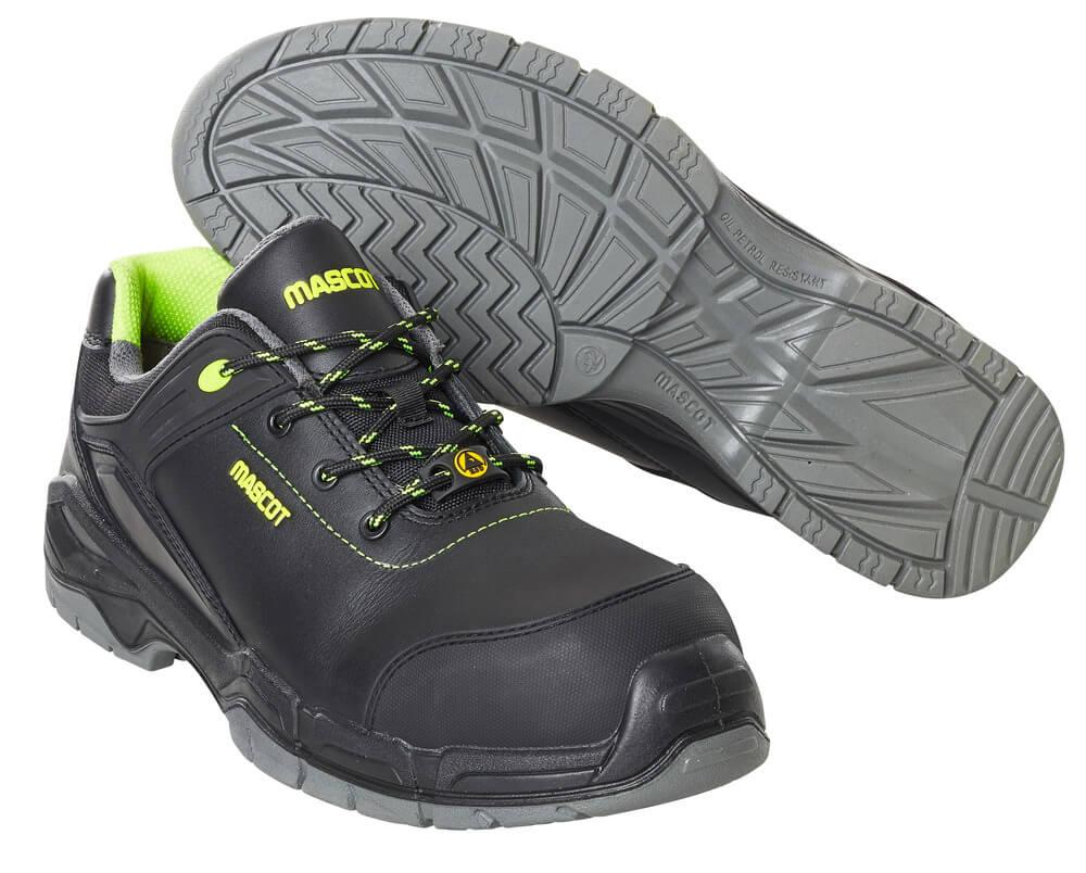 F0142-902-09 Chaussures de sécurité basses - Noir
