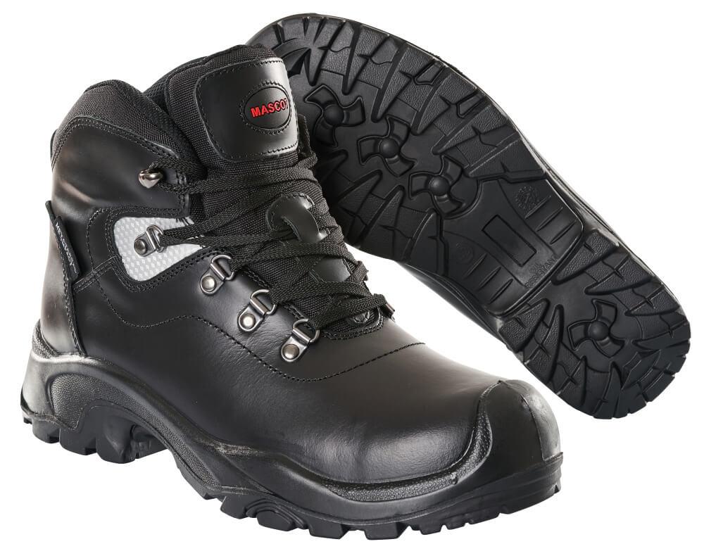 F0220-902-09 Bottes de sécurité - Noir