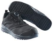 F0251-909-0909 Chaussures de sécurité basses - Noir/Noir