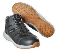 F0302-946-09 Chaussures de sécurité hautes - Noir