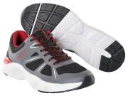 F0950-909-A84 Baskets de travail - Noir/Anthracite foncé/Rouge